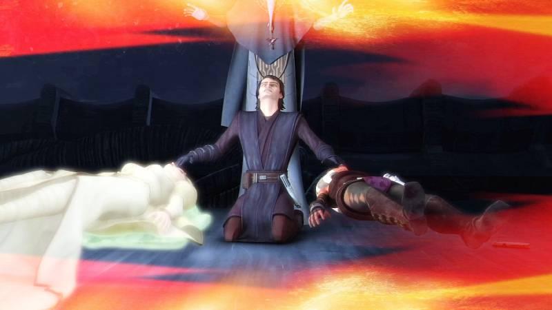 Star Wars Anakin Skywalker Figlia Mortis morte Ahsoka Tano Energia vitale guarigione Padre
