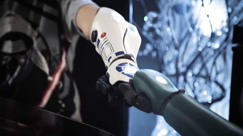 Star Wars Kyle Braccio Bionico R2D2 protesi(1)
