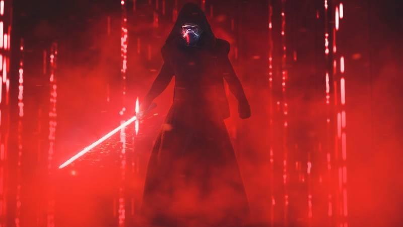 Star Wars Kylo Ren Episodio IX fan art by Jacob Rejzek