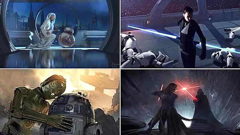 Star Wars concept art Colin Trevorrow Episodio IX