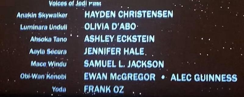 Star Wars voci nella forza Rey attori