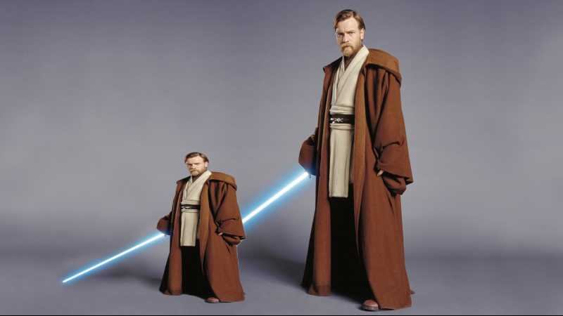 Ewan Mcgregor Baby Kenobi Star Wars