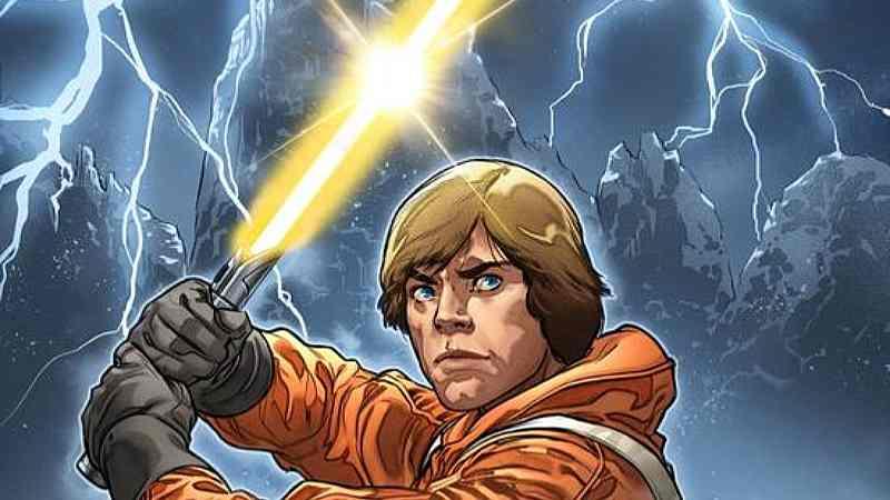 Star Wars 6 Luke Skywalker Spada Laser Gialla Marvel Comics(1)
