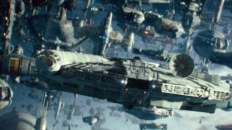 Star Wars Battaglia di Exegol Navi Resistenza(1)