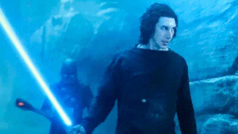 Star Wars Ben Solo spada laser Exegol redenzione Episodio IX Ascesa di Skywalker foto(1)