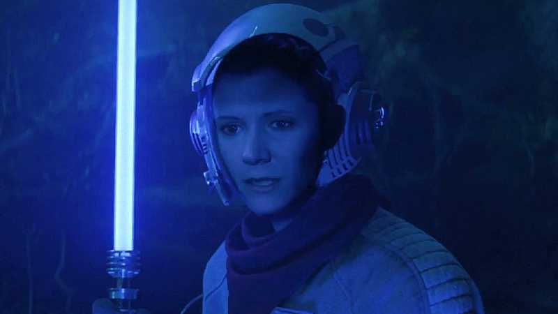 Star Wars Episodio IX Effetti Digitali video industrial magic light Leia(1)