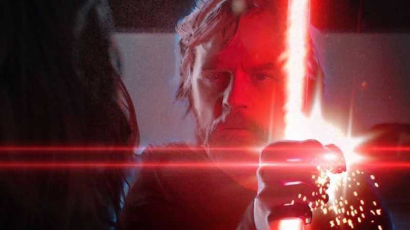 Star Wars Kylo Ren Luke Skywalker Fantasma Colin Trevorrow Mano Spada Laser(1)
