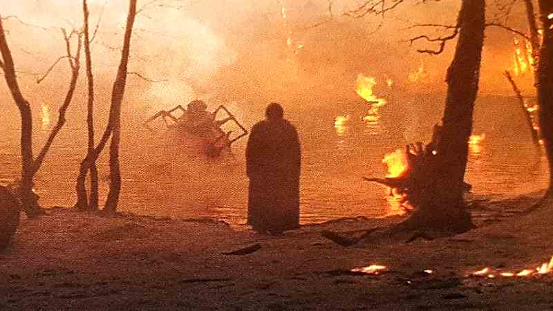 Star Wars Kylo Ren Mustafar ragno creatura wayfinder