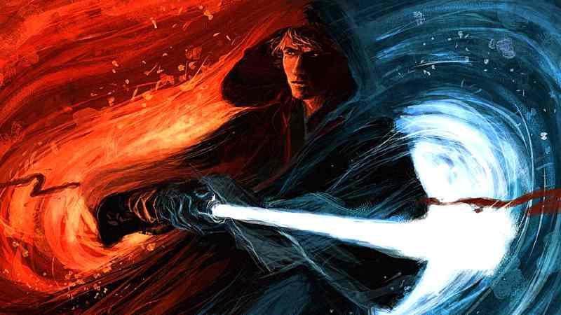 Star Wars La Forza Equilibrio Lato Chiaro Luce Lato Oscuro Jedi Sith(1)