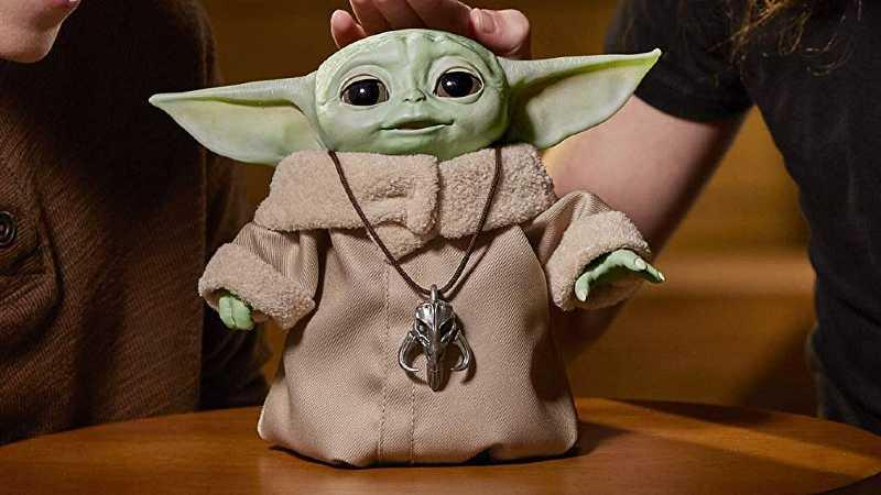 Star Wars The Child Animatronic Amazon Italia Baby Yoda Hasbro(1)