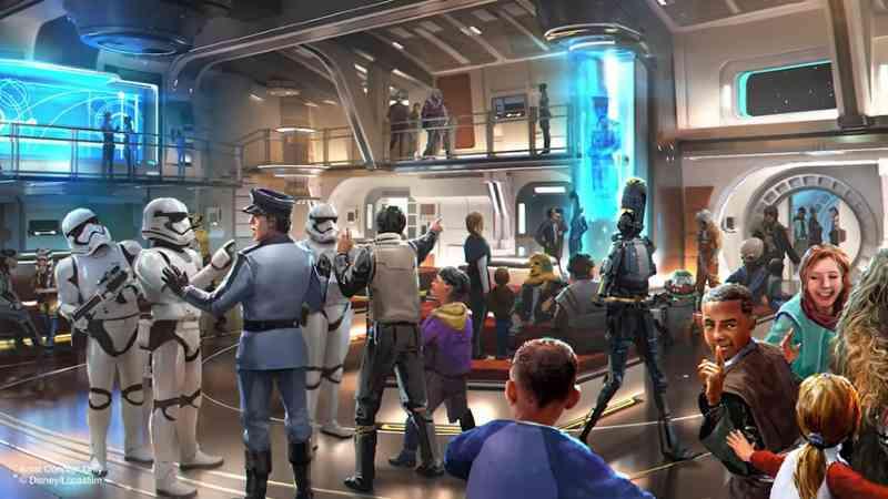 Star Wars hotel Galactic Starcruiser Galaxy Edge prenotazione(1)