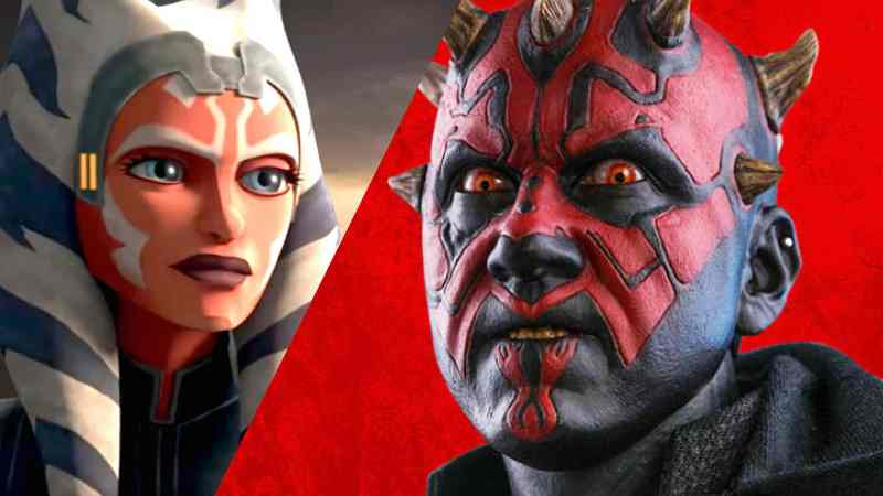 Star Wars Darth Maul Ahsoka Tano libro The Clone Wars Siege Assedio Mandalore(1)