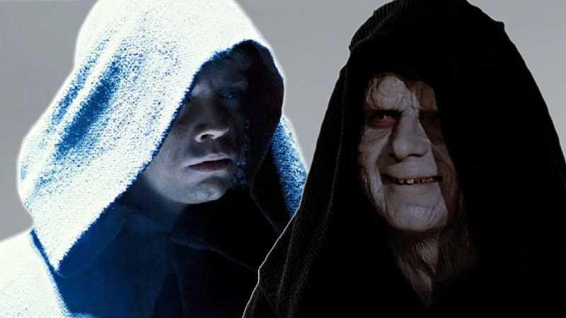 Star Wars Luke Skywalker Palpatine Sith Darth Sidious Imperatore Emperor(1)