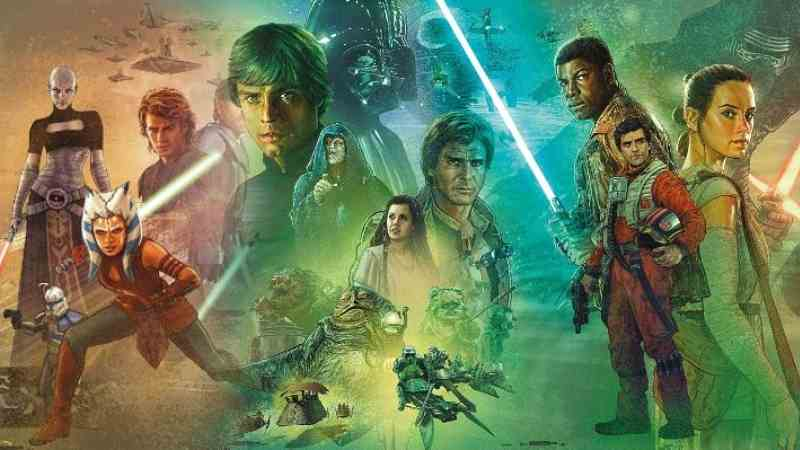Star Wars Saga Trilogie Completa Video