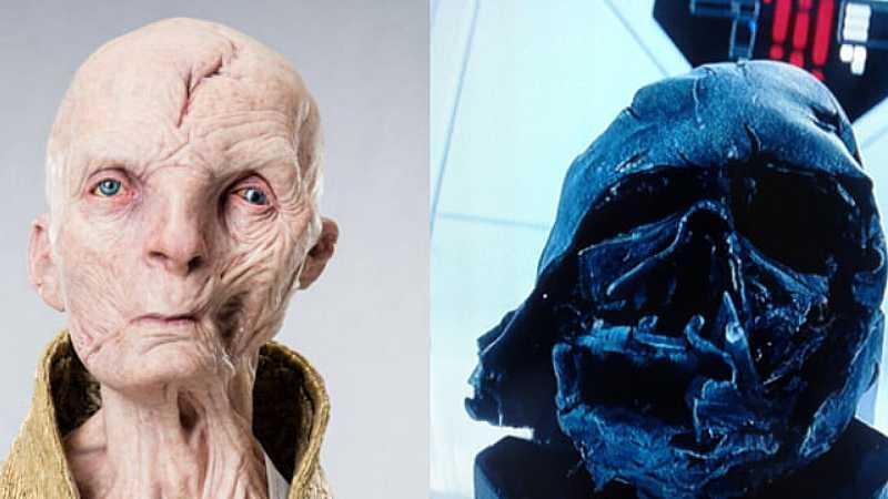 Star Wars Snoke Darth Vader collegamento