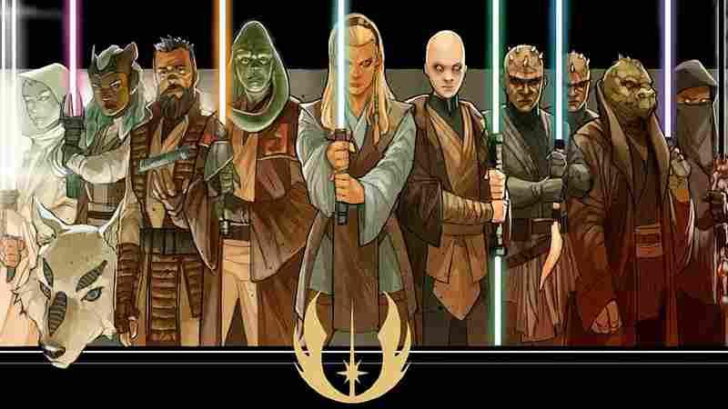 Star Wars spade laser Alta Repubblica High Republic(1)