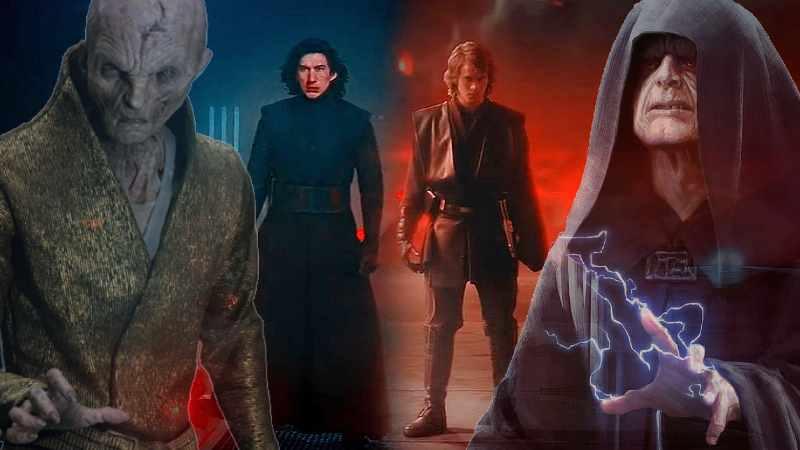 Star Wars Anakin Skywalker Ben Solo Kylo Ren Darth Vader(1)
