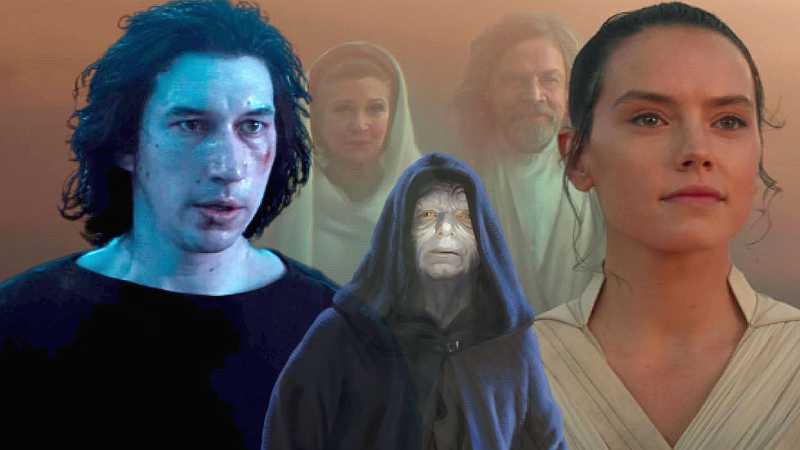 Star Wars Diade Force Forza Ben Solo Rey Skywalker Palpatine(1)