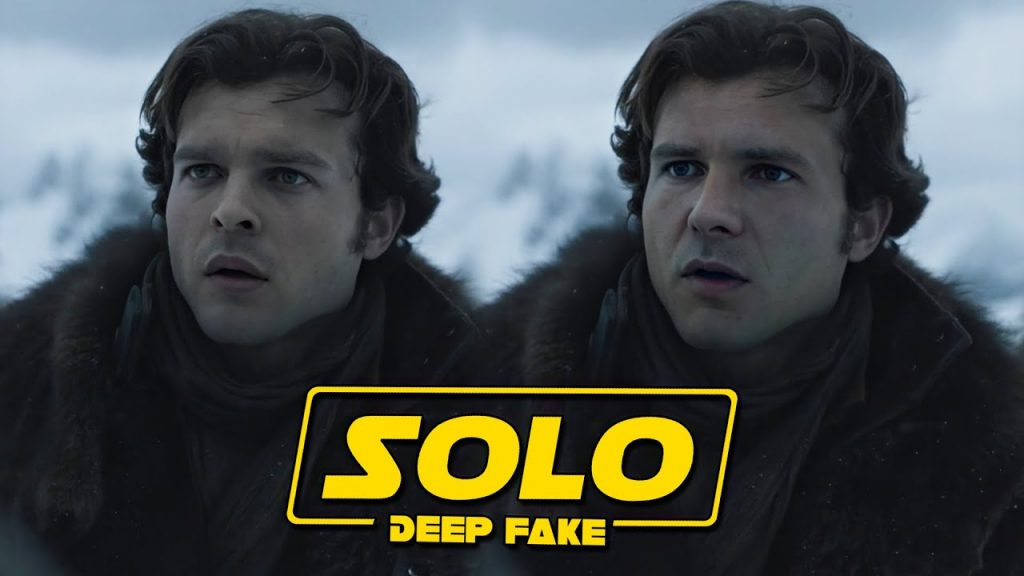 Star Wars Solo A Story Harrison Ford Deep Fake