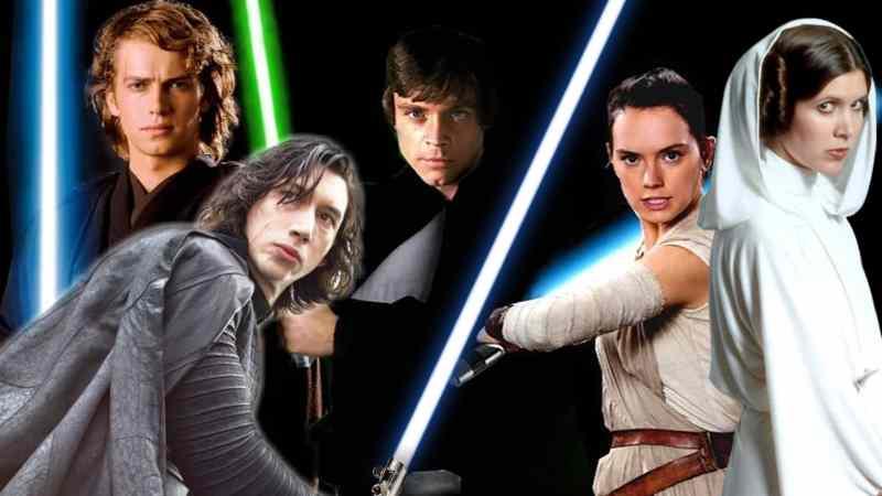 Star Wars Tutti gli Skywalker della saga