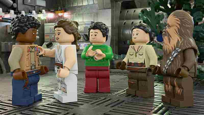The LEGO Star Wars Holiday Special Disney +(1)