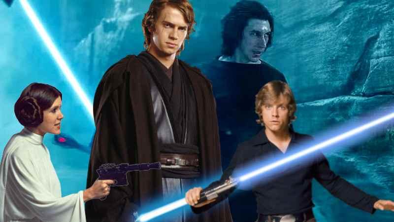 Star Wars Famiglia Family Skywalker(1)