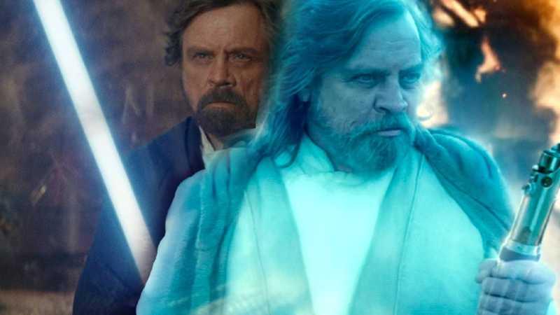 Star Wars Luke Skywalker Episodio VIII IX Ascesa Ultimi Jedi Last Rise